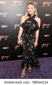 New York, NY - June 27, 2017: Hilary Duff attends the Younger Season Four Premiere Party at Mr. Purple