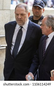 New York, NY - June 5, 2018: Harvey Weinstein & attorney Benjamin Brafman arrive for arraigement on rape and criminal sex act charges at State Supreme Court
