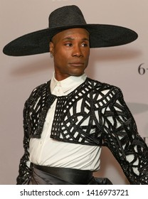 New York, NY - June 5, 2019: Billy Porter wearing dress by Francis Libiran attends FX POSE Season 2 Premiere at The Plaza Hotel