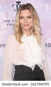 New York, NY - June 5, 2019: Michelle Pfeiffer attends 2019 Fragrance Foundation Awards at Lincoln Center