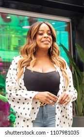New York, NY - June 7, 2018: Niecy Nash attends TNT CLAWS Presents the ClawsUp Tour New York at Herald Square