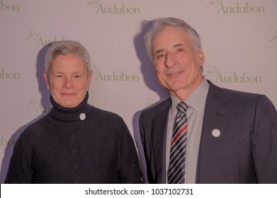NEW YORK, NY - MARCH 1: Margaret Walker and David Yarnold attend the National Audubon Society Annual Gala at The Rainbow Room at 30 Rockefeller Plaza on March 1, 2018 in New York City.