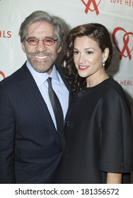 NEW YORK, NY - MARCH 11, 2014: (L-R) Geraldo Rivera and Erica Michelle Levy attend the Love Heals 2014 Gala at Four Seasons Restaurant