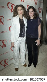 NEW YORK, NY - MARCH 11, 2014: (L-R) Sophie Hawkins and Lisa Lori attend the Love Heals 2014 Gala at Four Seasons Restaurant