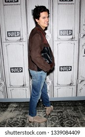 New York, NY - March 12 2019:  Cole Sprouse at The Tuesday, Mar 12, 2019 BUILD Series at BUILD Studio, New York, NY