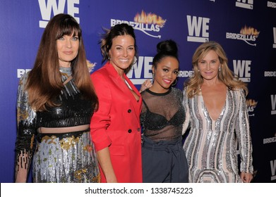NEW YORK, NY - MARCH 13: Show's hosts and judges attend WEtv's premiere fashion event celebrating the return of 'Bridezillas' on March 13, 2019 at Angel Orensanz Foundation in New York City.