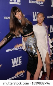 NEW YORK, NY - MARCH 13: Carol Alt and Lil Mama attend WEtv's premiere fashion event celebrating the return of 'Bridezillas' on March 13, 2019 at Angel Orensanz Foundation in New York City.