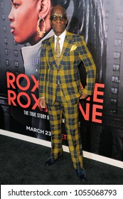 NEW YORK, NY - MARCH 19: Dapper Dan attends the 'Roxanne Roxanne' New York Premiere at SVA Theater on March 19, 2018 in New York City.