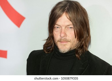 New York, NY - March 20, 2018: Norman Reedus attends Isle of Dogs New York special screening at Metropolitan museum