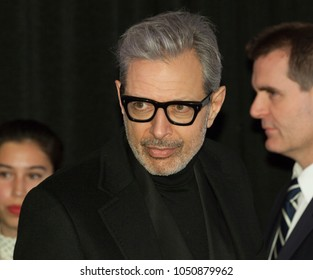 New York, NY - March 20, 2018: Jeff Goldblum attends Isle of Dogs New York special screening at Metropolitan museum