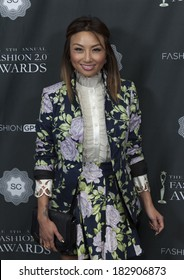 NEW YORK, NY - MARCH 20, 2014: Jeannie Mai attends the FASHION 2.0 Awards at Merkin Concert Hall