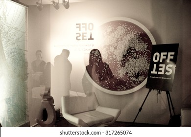 NEW YORK, NY - March 27, 2013: Preview party of OFFSET, a new brand from Shutterstock at Leila Heller Gallery in New York