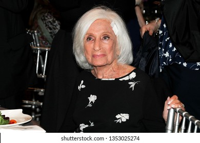 New York, NY - March 28 2019:  Marion Wiesel at The 7th Annual Champions of Jewish Values International Awards Gala at Carnegie Hall, New York, NY