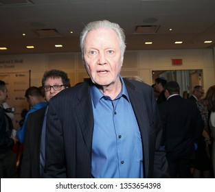 New York, NY - March 28, 2019: Actor Jon Voight attends 7th Annual Champions of Jewish Values Gala at Carnegie Hall