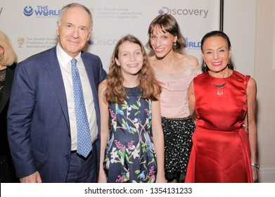 NEW YORK, NY - MARCH 28: Sir Clive Gillinson and family attend The Seventh Annual Champions of Jewish Values International Awards Gala at Carnegie Hall on March 28, 2019 in New York City.
