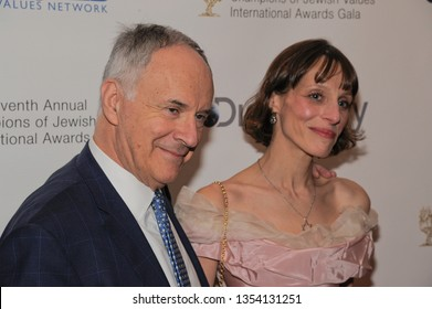 NEW YORK, NY - MARCH 28: Sir Clive Gillinson, CBE and Anya Deutsch attend the Seventh Annual Champions of Jewish Values International Awards Gala at Carnegie Hall on 03/28/2019 in New York City.
