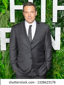 New York, NY - March 3, 2019: Ben Affleck attends Netflix Triple Frontier World Premiere at Jazz at Lincoln Center