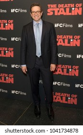 New York, NY - March 8, 2018: Dr. Julian Zelizer attends New York premiere of IFC Film Death of Stalin at AMC Lincoln Square