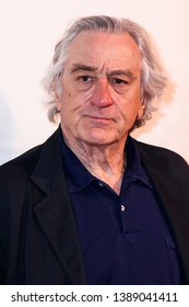 "NEW YORK, NY - MAY 03. 2019: Robert De Niro attends at  ""It Takes A Lunatic""  2019 Tribeca Film Festival at Stella Artois Theater at BMCC Tribeca Performing Arts Center"