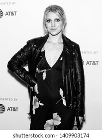 "New York, NY - May 03, 2019: Actress Annaleigh Ashford attends the premiere of the ""It Takes A lunatic"" during the 2019 Tribeca Film Festival at BMCC Theater"