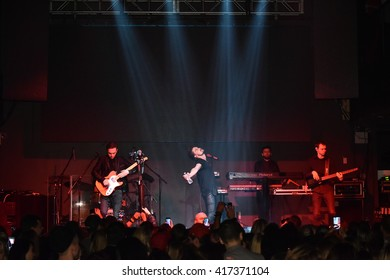 NEW YORK, NY - MAY 06: General atmosphere during American concert tour of Russian singer Dima Bilan at Stage 48 Club on May 06, 2016 in New York City.