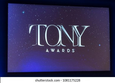 New York, NY - May 1, 2018: Atmosphere during 2018 Tony Awards Nominations Announcement at New York Public Library for the Performing Arts