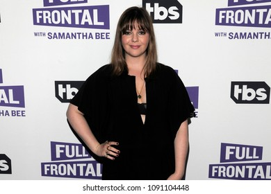 NEW YORK, NY - MAY 14: Actor Amber Tamblyn attends the 'Full Frontal with Samantha Bee' FYC Event NY on May 14, 2018 in New York City.
