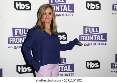 NEW YORK, NY - MAY 14: Executive Producer and host Samantha Bee attends the 'Full Frontal with Samantha Bee' FYC Event NY on May 14, 2018 in New York City.