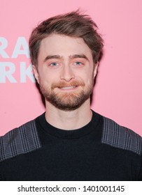 New York, NY - May 14, 2019: Daniel Radcliffe attends screening and conversation for Miracle Workers at the 92nd Street Y