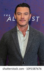 New York, NY - May 15, 2018: Luke Evans attends Emmy for your consideration event for TNT The Alienist at 92nd street Y