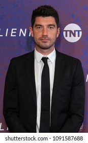 New York, NY - May 15, 2018: Jakob Verbruggen attends Emmy for your consideration event for TNT The Alienist at 92nd street Y