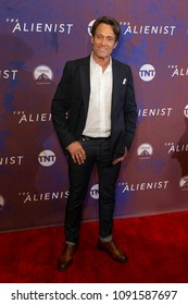 New York, NY - May 15, 2018: Michael Kaplan attends Emmy for your consideration event for TNT The Alienist at 92nd street Y