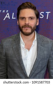 New York, NY - May 15, 2018: Daniel Bruhl attends Emmy for your consideration event for TNT The Alienist at 92nd street Y