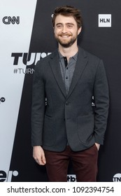 New York, NY - May 16, 2018: Daniel Radcliffe attends the 2018 Turner Upfront at One Penn Plaza