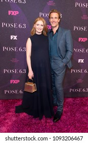 New York, NY - May 17, 2018: Heather McComb and James Van Der Beek attend FX Pose premiere at Hammerstein Ballroom