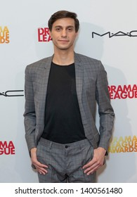 New York, NY - May 17, 2019: Gideon Glick attends 85th Annual Drama League Awards at Marriot Marquis Times Square