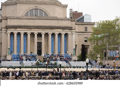 NEW YORK, NY - MAY 18: Columbia University Commencement Day on May 18, 2016. It is a private Ivy League research university in Upper Manhattan, New York City
