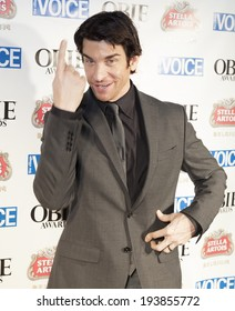 NEW YORK, NY - MAY 19, 2014: Andy Karl attends the 59th Annual Village Voice Obie awards at Webster Hall