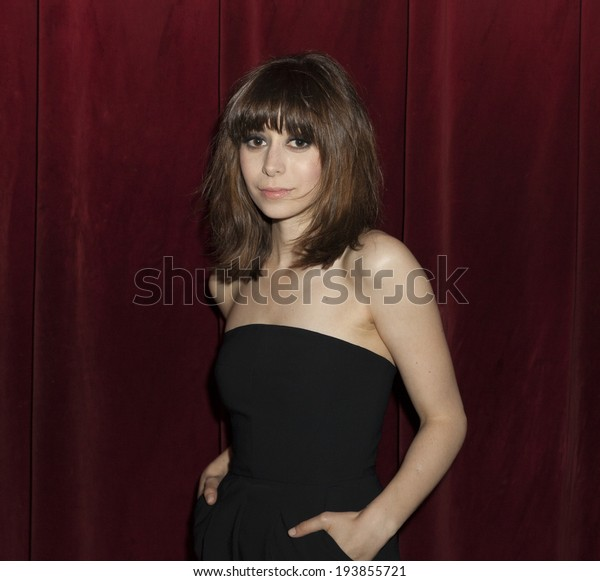 NEW YORK, NY - MAY 19, 2014: Cristin Milioti attends the 59th Annual Village Voice Obie awards at Webster Hall
