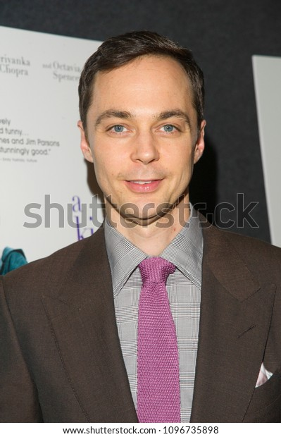 New York, NY - May 21, 2018: Jim Parsons attends A Kid Like Jake premiere at The Landmark at 57 West