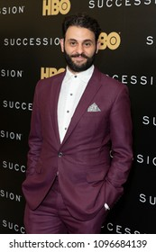 New York, NY - May 22, 2018: Arian Moayed attends HBO drama Succession premiere at Time Warner Center