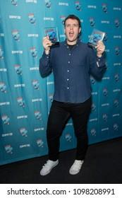 New York, NY - May 24, 2018: Grey Henson attends Broadway.com Audience Choice Awards celebration at 48 Lounge