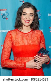 New York, NY - May 24, 2018: Barrett Wilbert Weed attends Broadway.com Audience Choice Awards celebration at 48 Lounge