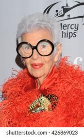 NEW YORK, NY - MAY 24: AAFA Fashion Maverick Award Winner Iris Apfel attends the 38th Annual AAFA American Image Awards at 583 Park Avenue on May 24, 2016 in New York City.