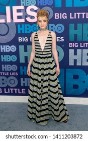 New York, NY - May 29, 2019: Kathryn Newton wearing dress by Dior attends HBO Big Little Lies Season 2 Premiere at Jazz at Lincoln Center