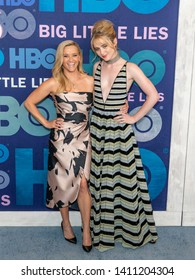 New York, NY - May 29, 2019: Reese Witherspoon and Kathryn Newton attend HBO Big Little Lies Season 2 Premiere at Jazz at Lincoln Center