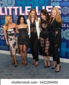 New York, NY - May 29, 2019: Reese Witherspoon, Zoe Kravitz, Laura Dern, Shailene Woodley, Nicole Kidman attend HBO Big Little Lies Season 2 Premiere at Jazz at Lincoln Center