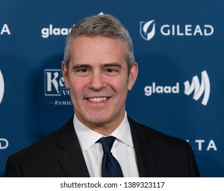 New York, NY - May 4, 2019: Andy Cohen attends the 30th Annual GLAAD Media Awards at New York Hilton Midtown