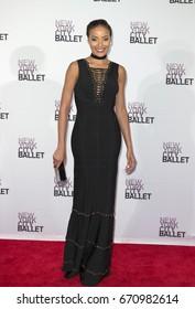 New York, NY - May 4, 2016: Selita Ebanks attends 2016 New York City Ballet Spring Gala at Lincoln Center