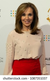 New York, NY - May 8, 2018: Rosanna Scotto wearing top by Stella McCartney attends David Lynch Foundation Women of Vision Benefit Luncheon at 583 Park Avenue